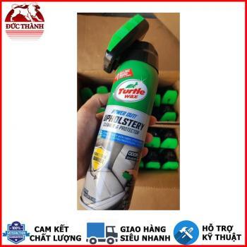 Chai xịt foam làm sạch vải nỉ ghế da và khử mùi ô tô Turtle Wax Upholstery Cleaner 10246 510g