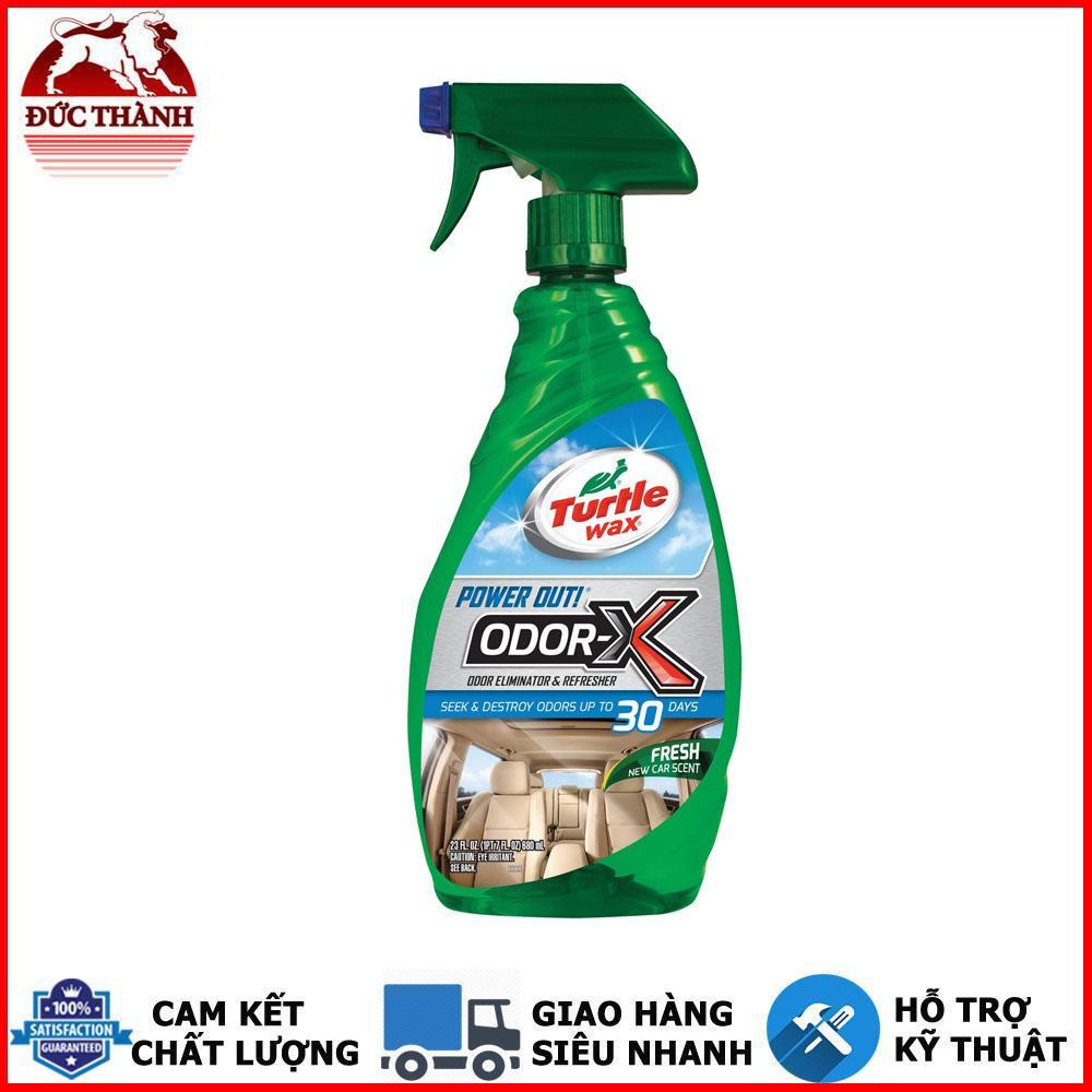 Chai xịt khử mùi nội thất Turtle Wax Power Out Odor-X Spray 50654 680ml
