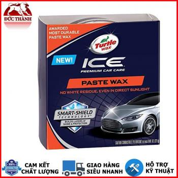 Nano wax tăng độ bóng và bảo vệ bề mặt sơn Turtle wax ICE Paste Wax Smart Shield Technology 30465 227g