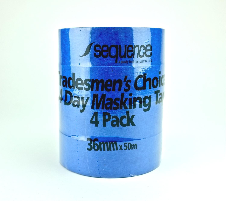 Băng keo giấy màu xanh da trời Sequence 36mmx50m