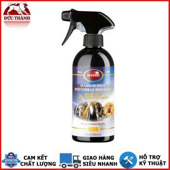 Chai xịt rửa vệ sinh xe nội ngoại thất đa dụng không cần nước AutoSol Waterless Motorbike Cleaner 6407 500ml