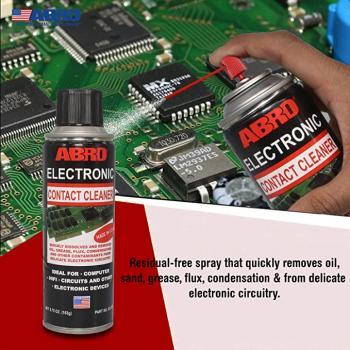 Chai xịt vệ sinh làm sạch bo mạch điện tử Abro USA Electronic Contact Cleaner 163g