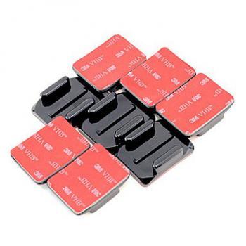 Bộ 4 Miếng keo dán chân đế máy quay GoPro Flat & Curved Adhesive Mounts (cắt sẵn theo hình)