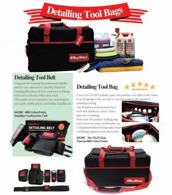 Túi xách đa năng đựng dụng cụ đánh bóng MaxShine 600D Oxford Fabric Car Detailing Tool Bag 6012001