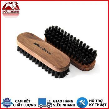 Bàn chải làm sạch nội thất MaxShine Leather & Alcantara Cleaning Brush Compact Size 12x4cm 7011007