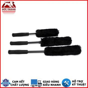 Bộ 3 cây cọ vệ sinh lazang - mâm bánh xe MaxShine Handle Wheel Wool Brush Kit 704601