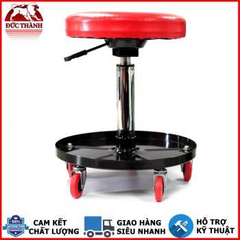 Ghế Ngồi Đánh Bóng Xe Xoay 360 Độ MaxShine  Detailing Stool – With Tool Tray 702301