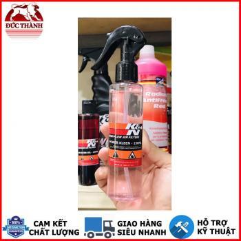 Chai xịt vệ sinh lọc gió và tẩy đa năng K&N Power Kleen – Air Filter Cleaner 99-0621 chai chiết lẻ 150ml