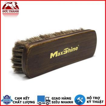 Bàn chải vệ sinh đa năng lông ngựa cao cấp Maxshine Horse Hair Brush 7033007 17x5,5cm