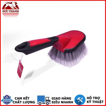 Bàn chải vệ sinh hốc bánh và lốp xe lông nhựa PVC Maxshine Car Wheel and Carpet Brush 7011016 27x9cm