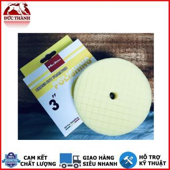 Phớt đánh bóng bước 2 MaxShine Polishing - Cross Cut Foam Pads màu vàng 2002090Y 3in 7,5cm
