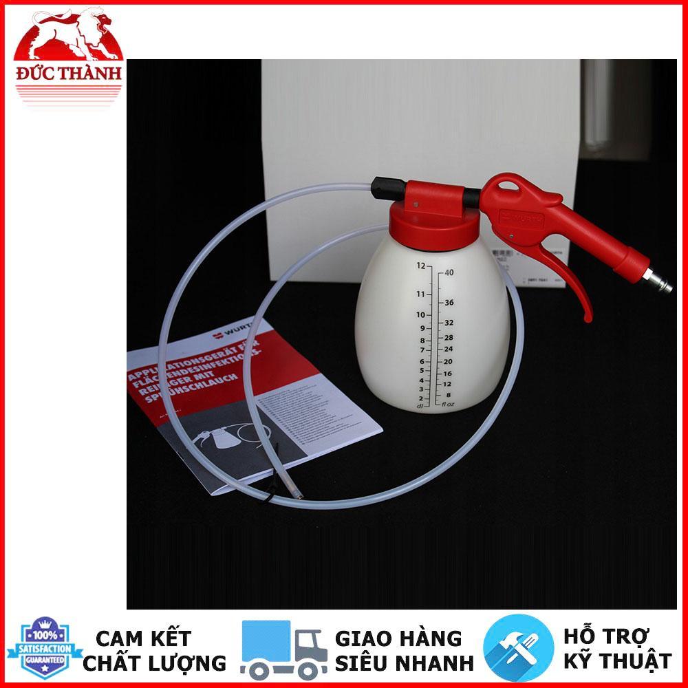 Dụng cụ phun dung dịch vệ sinh giàn lạnh ô tô, dân dụng Wurth 08917641 P633