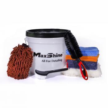 Combo bộ dụng cụ rửa xe 11 món Maxshine Detailing Bucket Kit (3.5 Gallon, Deluxe Plus Kit) MSB10