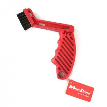 Dụng cụ vệ sinh làm sạch mút phớt, lông cừu đánh bóng MaxShine Pad Conditioning Brush 7021001