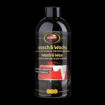 Nước rửa xe và wax bóng sơn kết hợp đậm đặc Autosol Wash & Wax 161502 500ml