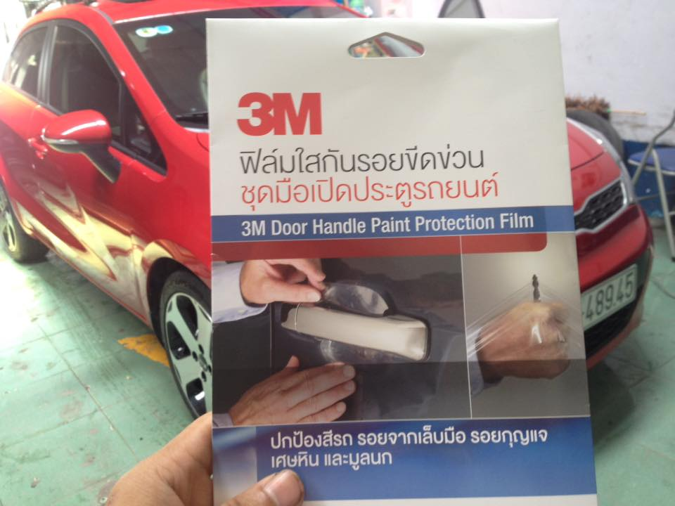 3M Door Handle Paint Protection Film - Phim chống trầy chén cửa 3M Toyota Camry