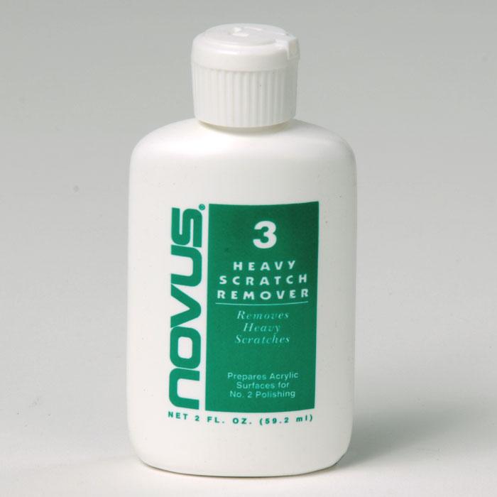 Novus #3 Repair & Prepare removes heavy scratches and abrasions from most acrylic surfaces. 2 oz - Xóa vết sướt trên vật liệu acrylic