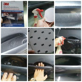 3M Door Handle Paint Protection Film - Phim chống trầy chén cửa 3M Toyota Vios/Yaris