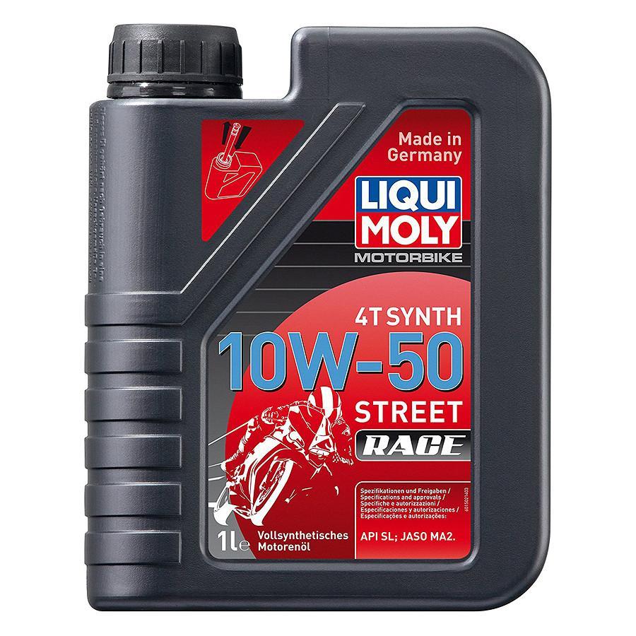 Nhớt Liqui Moly dành cho mô tô phân khối lớn  Racing 10w50 1502 1 lít