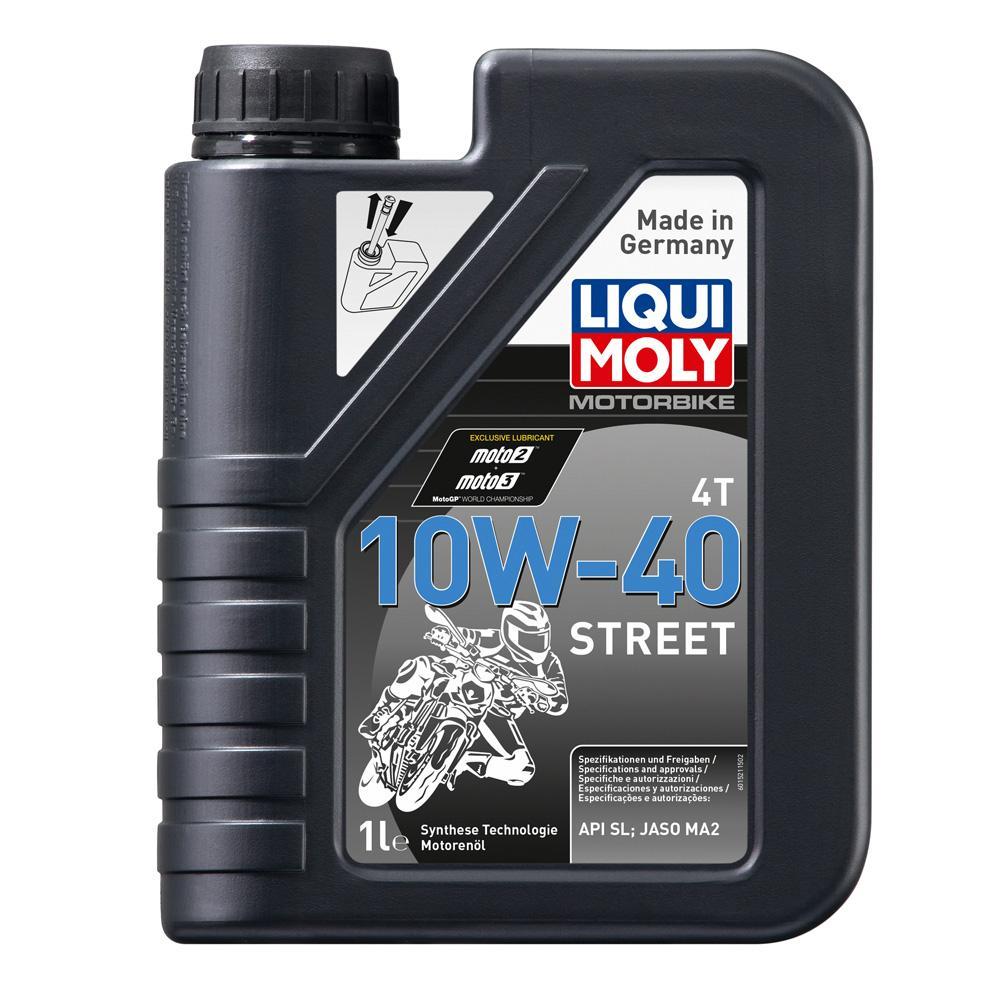 Nhớt mô tô cao cấp Liqui Moly 10W-40 4T Street 1521 1 lít