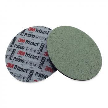 Giấy nhám đĩa siêu mịn 3M Trizact Foam Disc P3000