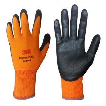Găng tay bảo vệ cao cấp 3M Comfort Grip Gloves (Cam) size L