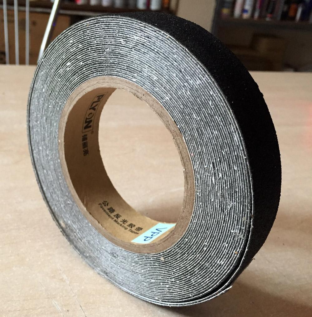 Băng keo chống trượt cao cấp Plyon PL1000 25mmx10m màu đen độ nhám P120