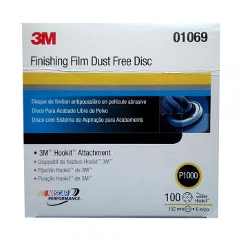Nhám đĩa cao cấp hoàn thiện bề mặt 3M Finishing Film Disc P1000 hộp 100 tờ