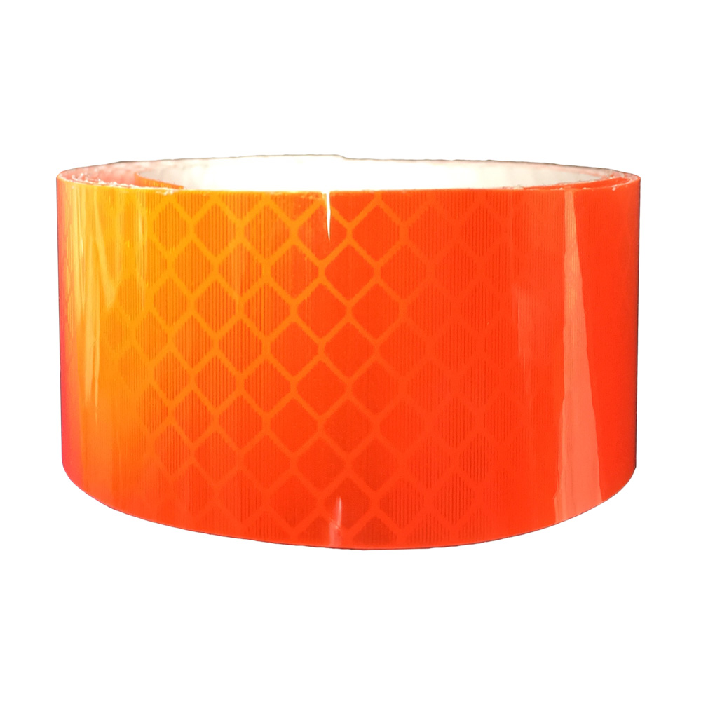 Băng keo phản quang kim cương Màu Cam 3M 4084 Diamond Grade DG3 Reflective Sheeting 50mmx1m