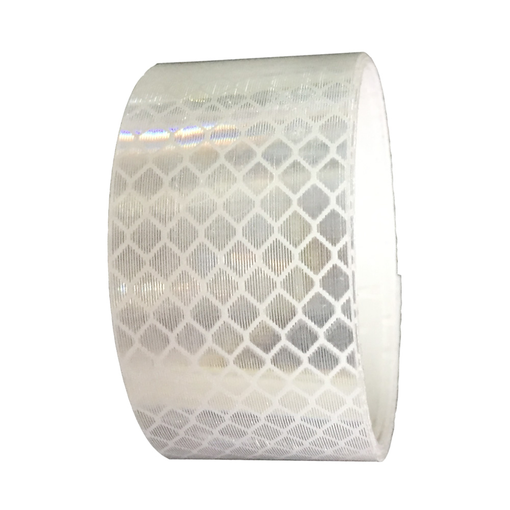 Băng keo phản quang kim cương 3M 4090 Diamond Grade DG3 Reflective Sheeting 30mmx1m (Trắng)