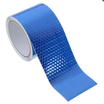 Băng keo phản quang kim cương 3M 4095 Diamond Grade DG3 Reflective Sheeting 50mmx1m (Xanh Blue)