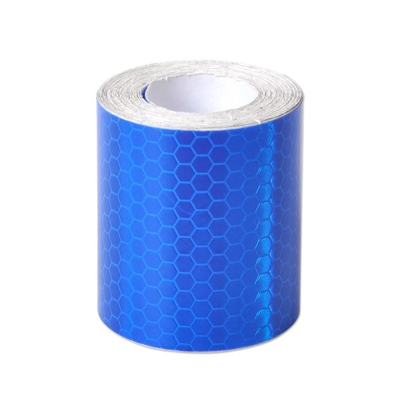 Băng keo phản quang kim cương 3M 4095 Diamond Grade DG3 Reflective Sheeting 30mmx1m (Xanh Blue)