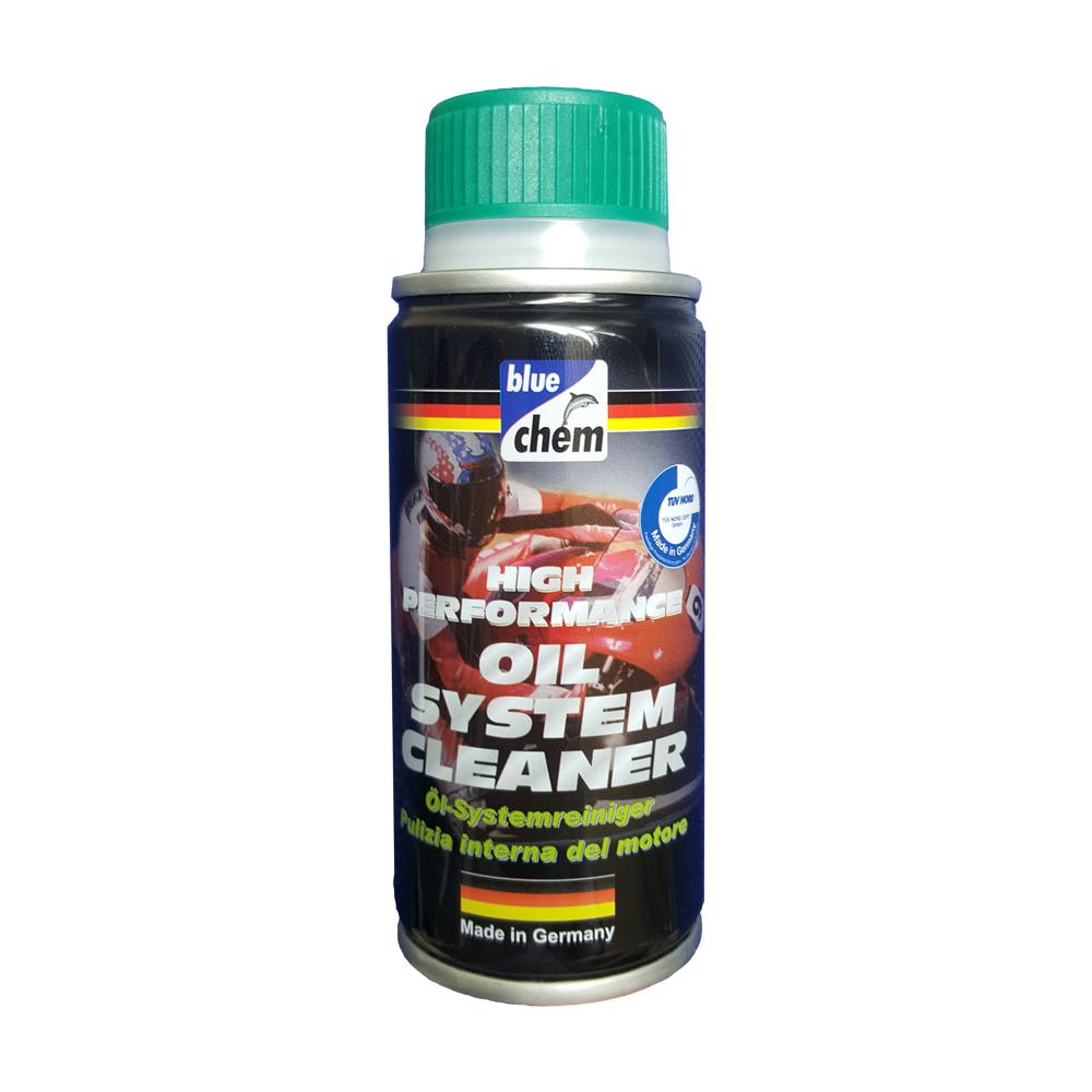 Dung dịch súc rửa động cơ cho mô tô xe máy Bluechem Oil System Cleaner 50ml