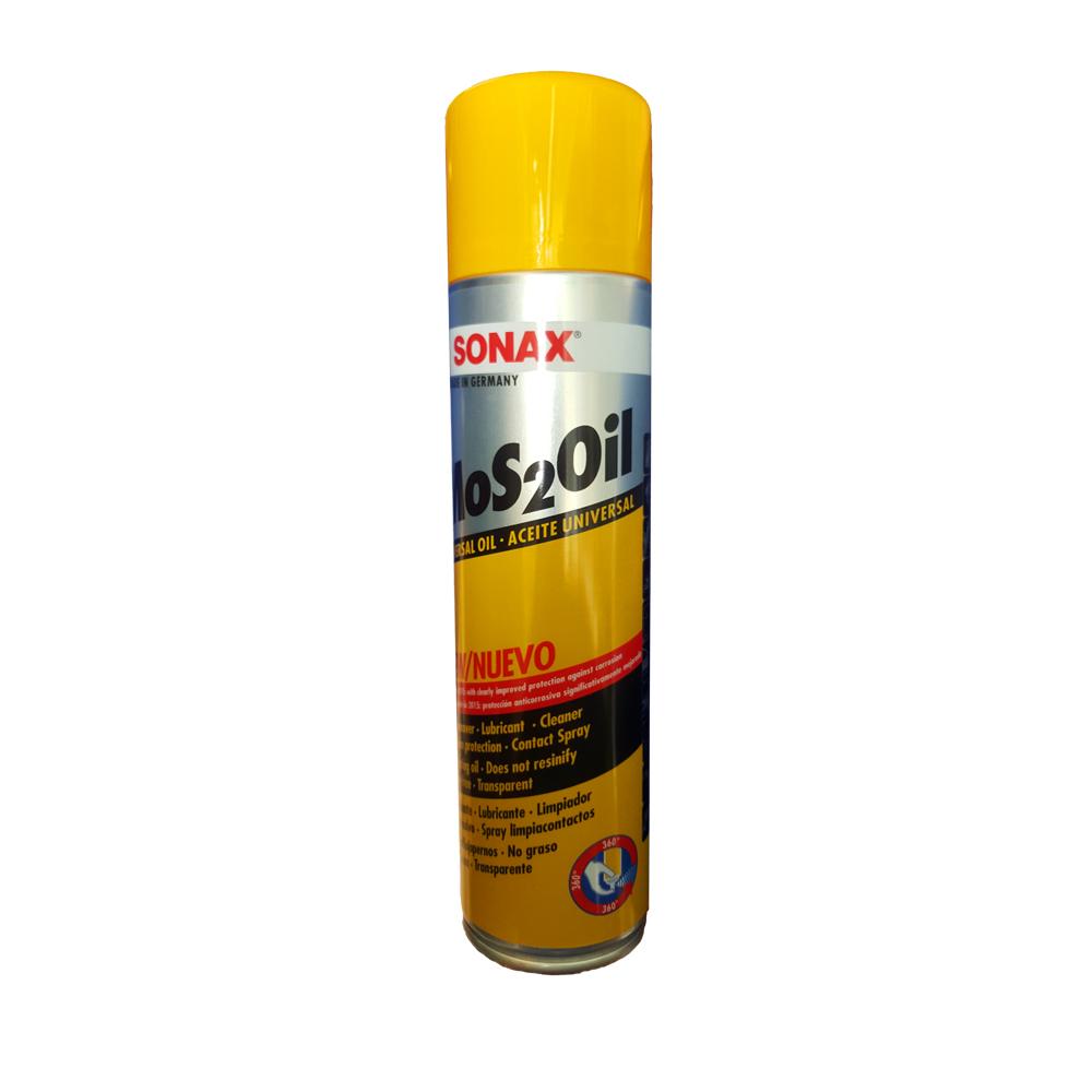 Dầu bảo quản bôi trơn chống gỉ và ăn mòn Sonax Mos2Oil 300ml 339200