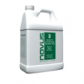 Novus #3 Repair & Prepare removes heavy scratches and abrasions from most acrylic surfaces.64oz(1.9lit)- Xóa vết sướt trên vật liệu acrylic