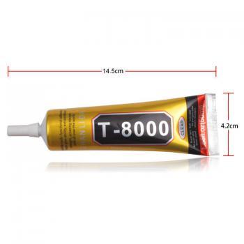 Keo dán thủ công mỹ nghệ, vải, đính hạt,... ron viền màn hình cảm ứng T8000 50ml