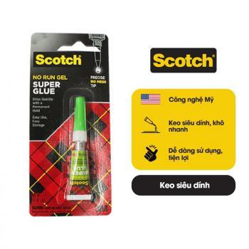Keo dán đa năng nhanh khô 3M Scotch Super Glue AD113 2g