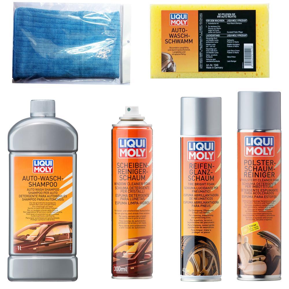 Bộ 6 sản phẩm vệ sinh chăm sóc xe hơi Liqui Moly Combo 1