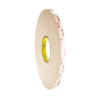 Băng keo 2 mặt 3M VHB 4945 dày 1.1mm 10mmx33m (Trắng sữa)