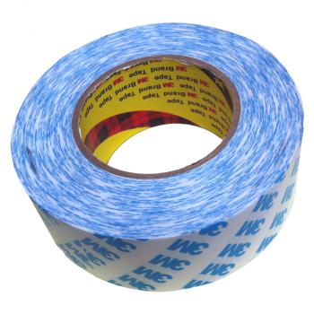 Băng keo 2 mặt 3M Double Coated Tissue Tape 90775 50mmx50m (Trắng phối xanh)