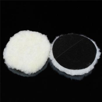 Phớt lông cừu đánh bóng Flex 3in trắng 80mm