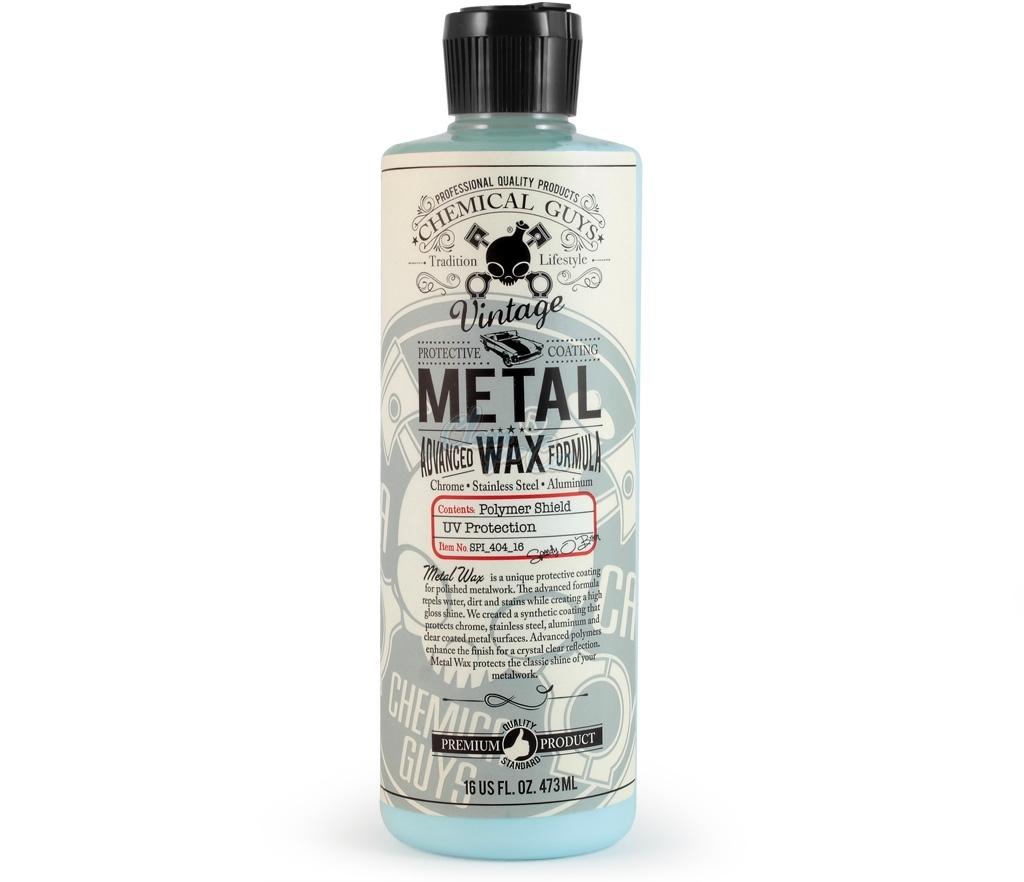 Wax đánh bóng và bảo vệ bề mặt kim loại Chemical Guys Metal Wax 16oz