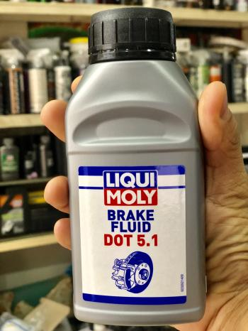 Dầu thắng cao cấp Liqui Moly Dot 5.1 3092 dùng được cho phanh ABS 250ml