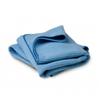 Khăn lau khô loại lớn Chemical Guys Waffle Weave Drying Microfiber Towel, Blue 60cm x 90cm