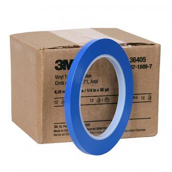 Băng keo chạy chỉ masking tape cong 3M 471 6mmx33m