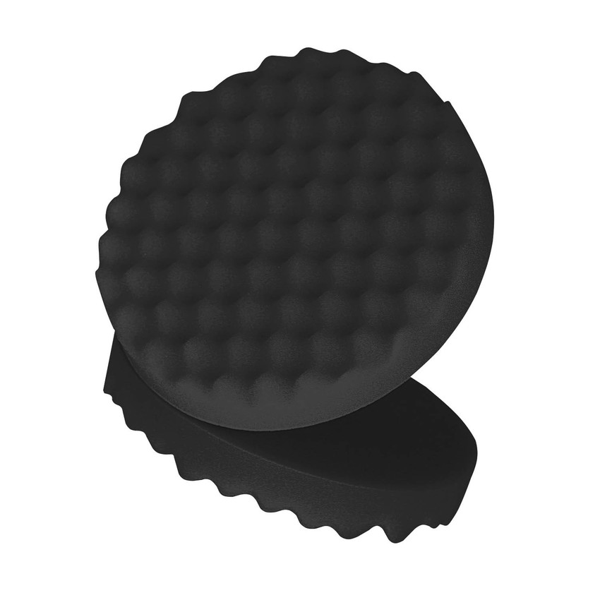 Bộ 2 đĩa xốp đánh bóng 3M 05725 3M Foam Polishing Pad 8inch 22cm (Đen)
