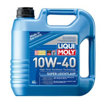 Dầu nhớt tổng hợp công nghệ cao Liqui Moly Super Leichtlauf 10W-40 9504 4 lít