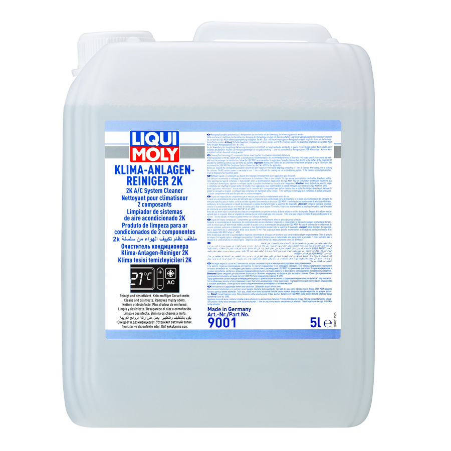 Dung dịch vệ sinh dàn lạnh Liqui Moly A/C Cleaner Klima-Anlagen-Reiniger 2K 9001 4092 5lit