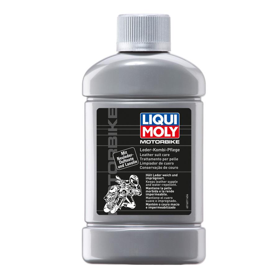 Dung dịch phục hồi bảo dưỡng áo/giáp đồ da bảo hộ Liqui Moly Motorbike Leather Suit Care 1601 250ml