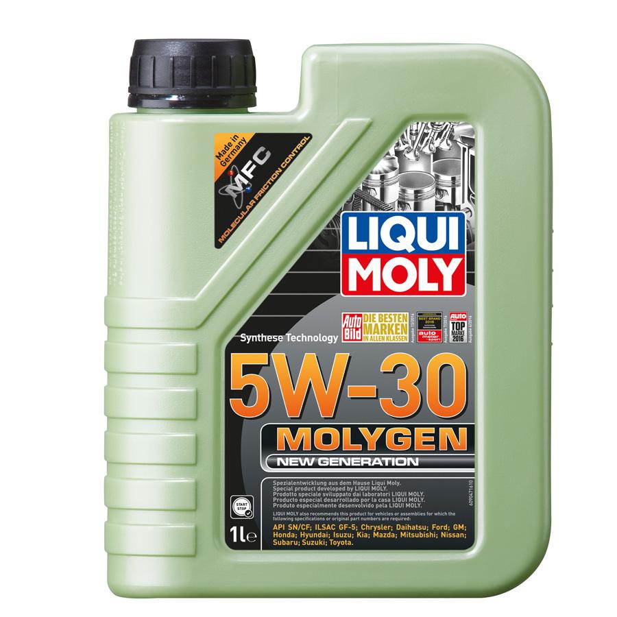 Dầu nhớt thế hệ mới chuẩn SN/CF Liqui Moly Molygen New Generation 5W-30 9047 1lit